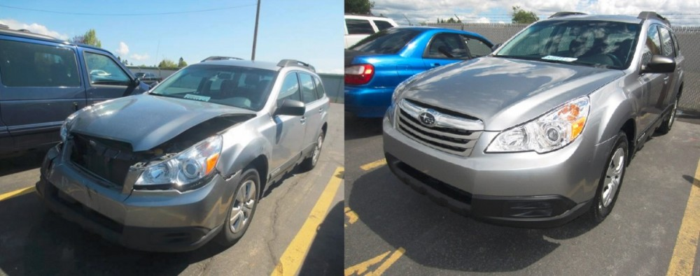 Washington Auto Collision 16811 E. Sprague Ave Spokane Valley, WA 99037 Auto Collision Repairs. Auto Body & Painting. We proudly posts before and after Collision Repair photos for our customers to view.