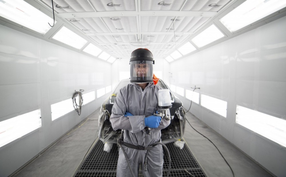 Caliber Collision - San Jose - Airport, CA, 95112, A state of the art refinishing department and skilled technicians deliver high quality results.