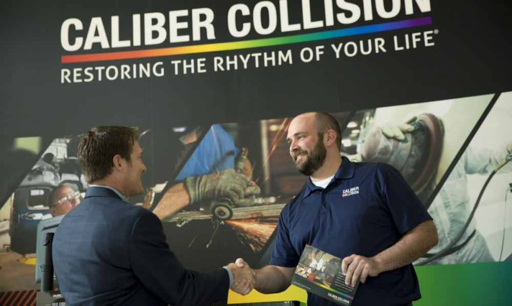 Caliber Collision - Cinco Ranch, in TX, postalcode]   has friendly faces and experienced staff members at Caliber Collision - Cinco Ranch, in Richmond , TX, 77407, are always here to assist you with your collision repair needs.