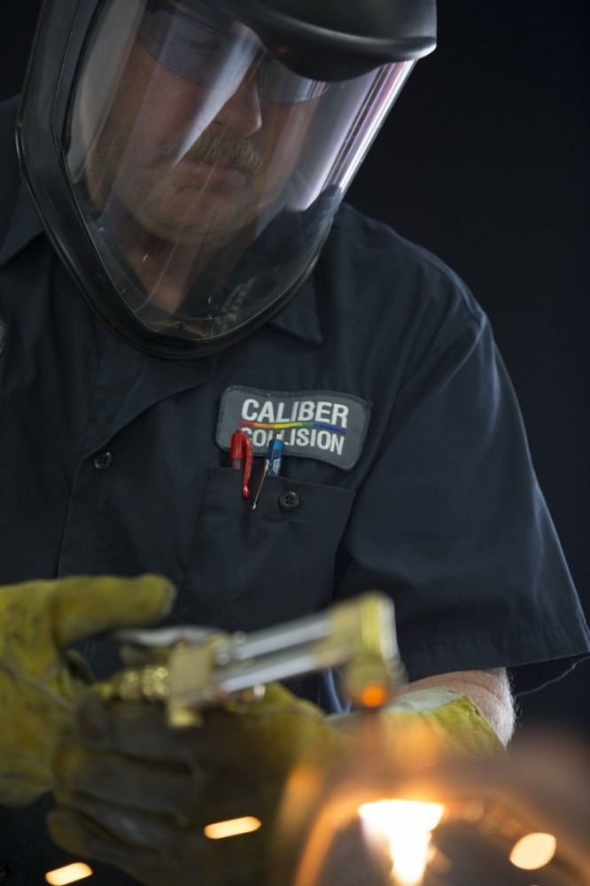 Caliber Collision - Taylors, SC, 29687, We are a high volume, high quality, Collision Repair Facility. We are a professional Collision Repair Facility, repairing all makes and models.