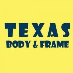 Texas Body & Frame Lubbock TX 79424 Logo. Texas Body & Frame Auto body and paint. Lubbock TX collision repair, body shop.