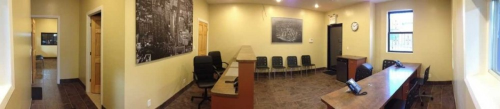 Here at Gotham City Collision, Long Island City, NY, 11101, we have a welcoming waiting room.