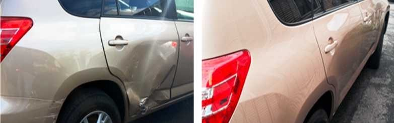 Our shop at Silva's Auto Body, we are always proud to post our before and after work!