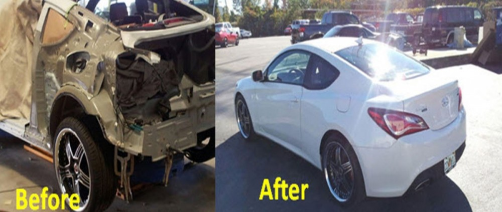 We are proud to show examples of our repairs, here at Performance Collision - Myrtle Beach.