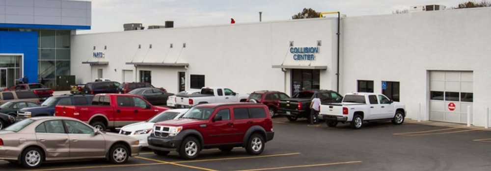 Hendrick Chevrolet Shawnee Mission - We are a state of the art Collision Repair Facility waiting to serve you, located at Merriam, KS, 66202.