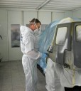 Hendrick Collision North - Painting technicians are trained and skilled artists.  At Hendrick Collision North, we have the best in the industry. For high quality collision repair refinishing, look no farther than, Kansas City, MO, 64153.
