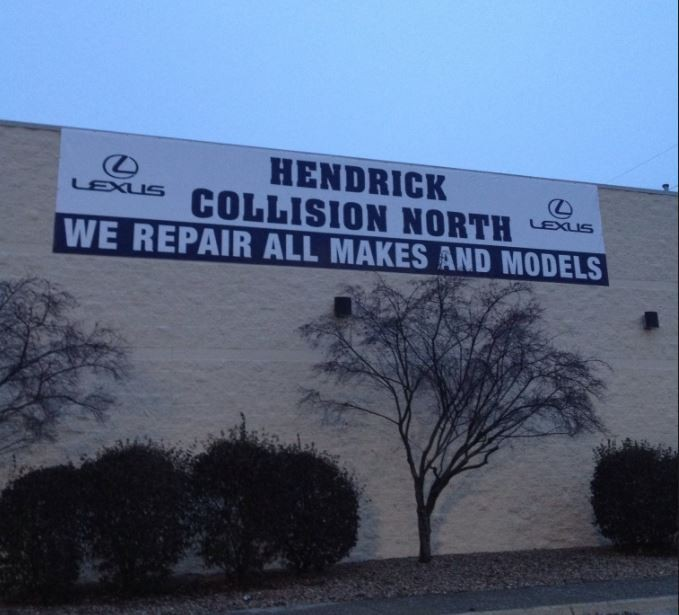 Hendrick Collision North - Structural repairs done at Hendrick Collision North are exact and perfect, resulting in a safe and high quality collision repair.