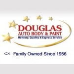 Douglas Auto Body & Paint Pasadena CA 91107 Logo. Douglas Auto Body & Paint Auto body and paint. Pasadena CA collision repair, body shop.