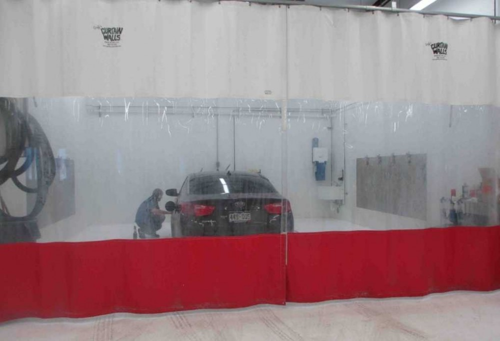 A professional refinished collision repair requires a professional spray booth like what we have here at Hamlin's Auto Body in Fountain, CO, 80817.