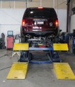 Accurate alignments are the conclusion to a safe and high quality repair done at Fix Auto Sonora, Sonora, CA, 95370