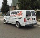 Professional vehicle lifting equipment at Top One Collision Center, located at Modesto, CA, 95356, allows our damage estimators a clear view of all collision related damages.