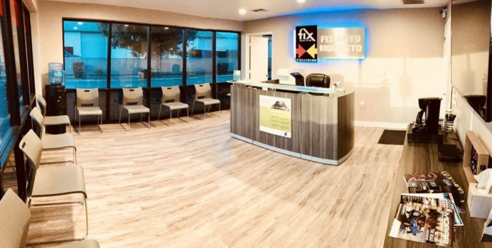 Here at Fix Auto Modesto, Modesto, CA, 95356, we have a welcoming waiting room.