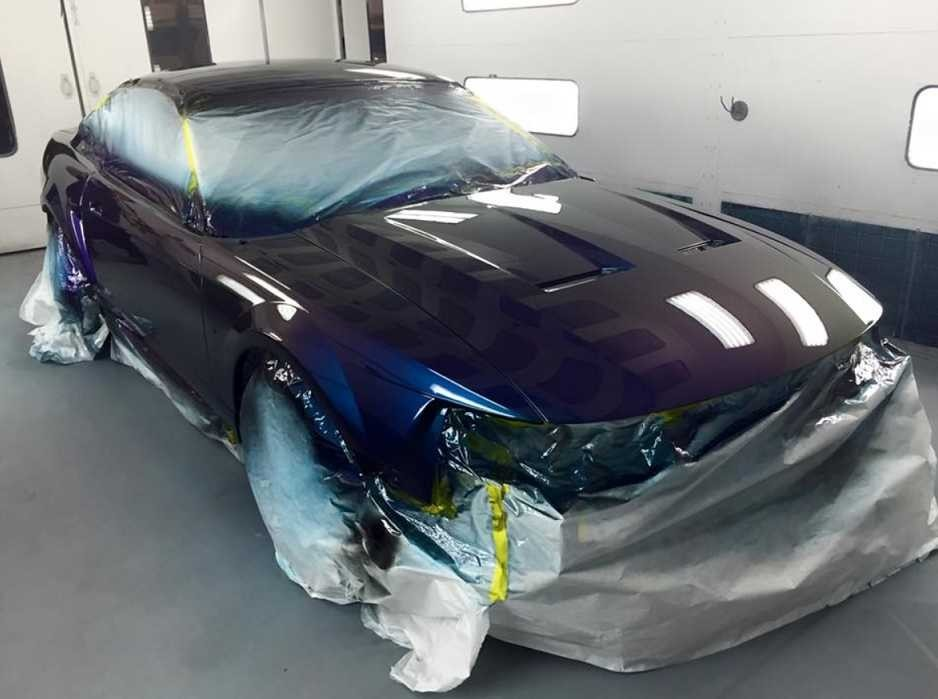 A professional refinished collision repair requires a professional spray booth like what we have here at Top One Collision Center in Modesto, CA, 95356.
