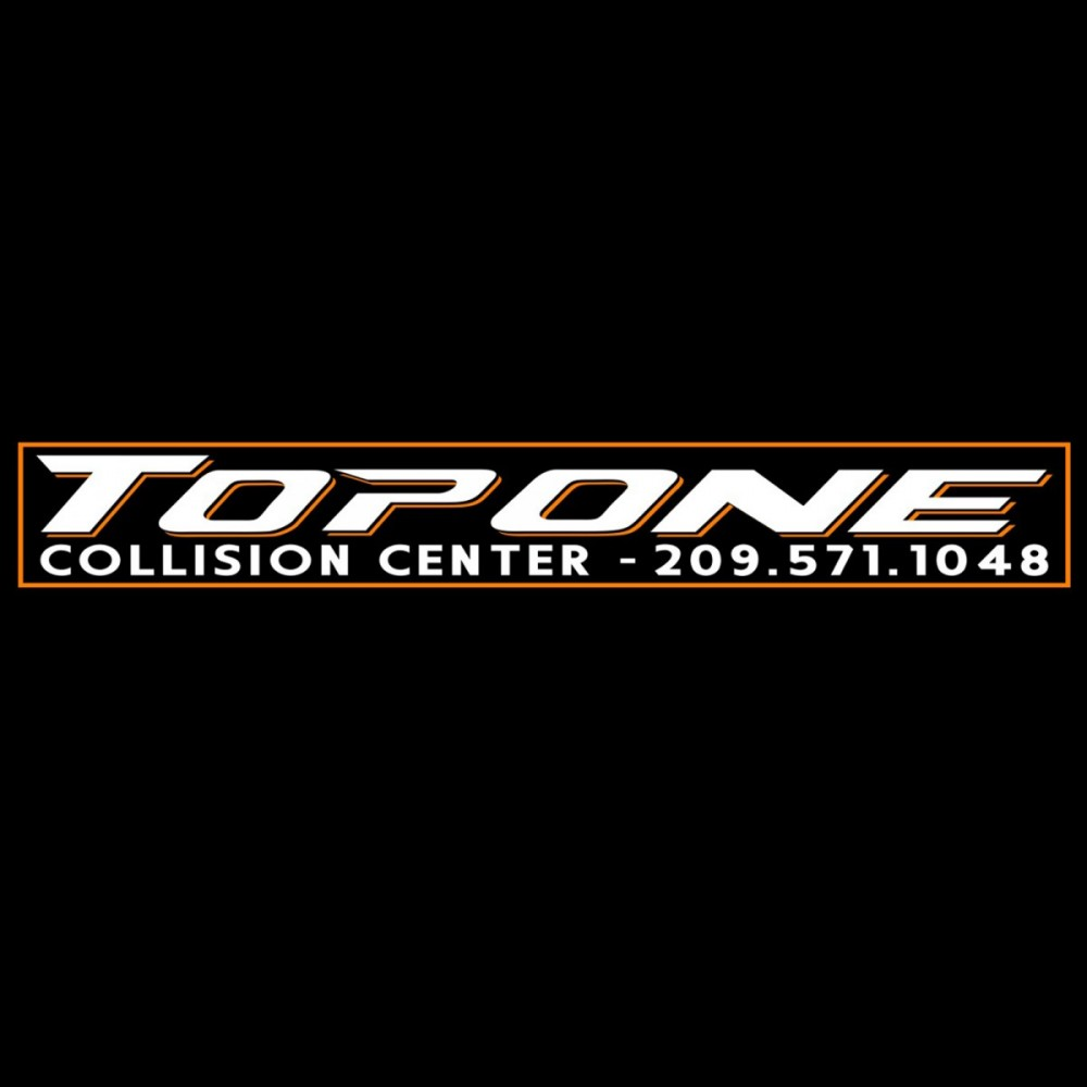 We are Top One Collision Center, located in Modesto! With our specialty trained technicians, we will bring your car back to its pre-accident condition!