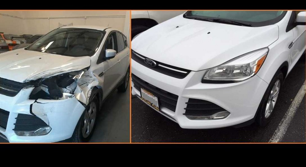 At Top One Collision Center, located in Modesto, we are proud to post before and after collision repair photos for our guests to view.