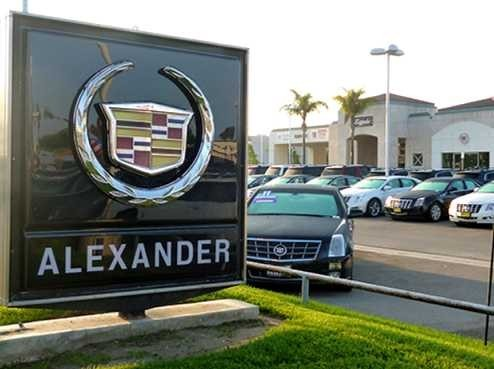 Alexander Buick Gmc Cadillac 1501 E. Ventura Blvd.  Oxnard, CA 93036 Our great location has easy access for our guests.