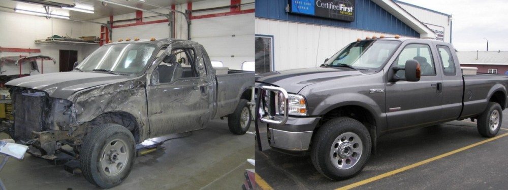 If you are in need of repairs on your vehicle, Dave's Collision Repair Center can bring it back to pre-accident condition. Take a look at our before and after photos, and you will see how exceptional we repair our customers' vehicles.
