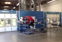 A neat and clean and professional refinishing department is located at Tony's Body Shop, Oxnard, CA, 93030-1636