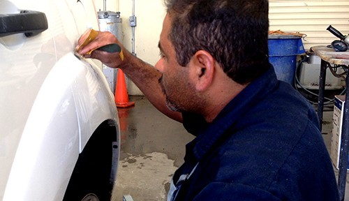 At Tony's Body Shop, in Oxnard, CA, 93030-1636, all of our body technicians are skilled at panel replacing.