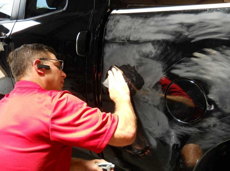 The color sand and buffing process is like putting the icing on a cake.  It just makes it better. These technicians are like jewelry polishers, they are an artist to their trade.  This process gives the vehicle's finish a mirror like feel and look.  At C.A.R.S. Collision Center, Belton, TX, 76513, we have the best in our industry.