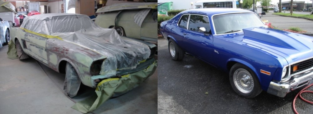 Pro Finish Inc.  - We are proud to post before and after collision repair photos for our guests to view.