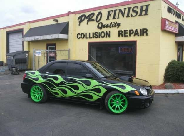Pro Finish Inc.  Our finished products are displayed at our easily accessible centralized location.  We are Auto Body and Paint Experts . 