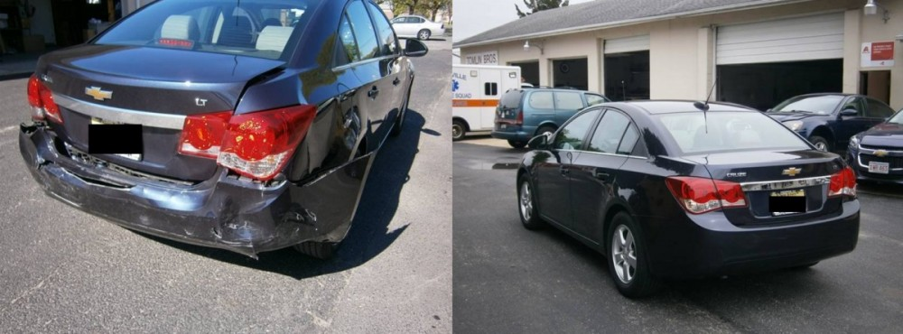 Best Auto Body Shop in New Jersey.   Tomlin Brothers Inc.