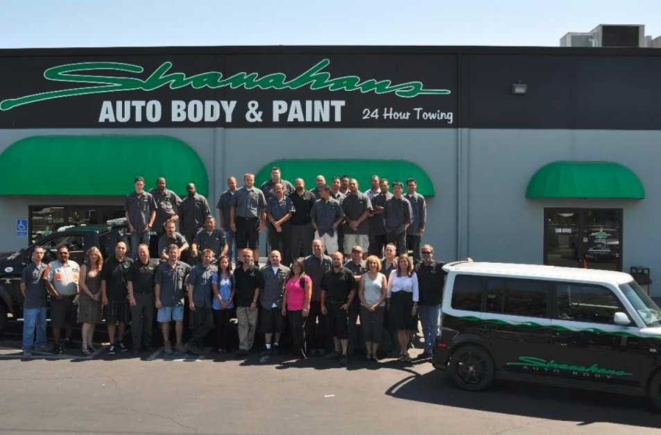 At Shanahan's Auto Body & Paint, we are one big happy family ready to care for your collision repair needs in Sacramento, CA.
