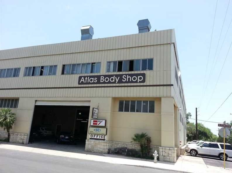 Atlas Body Shop 922 Carson Street  San Antonio, TX 78208 Auto Body and Painting Specialists. Collision Repair Experts. We are centrally located for our customer's convenience.