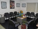 Our body shop's waiting area located at Van Nuys, CA, 91411 .