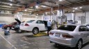 One of our body repair areas at Valley Motor Center Autobody in Van Nuys, CA Expert Auto Body & Paint Repairs