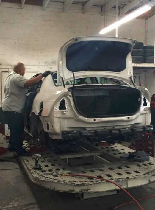 Here at Fix Auto San Francisco - SOMA, San Francisco, CA, 94107, our body technicians are craftsmen in the art of metal straightening.