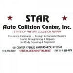 Star Auto Collision Center Mamaroneck NY 10543 Logo. Star Auto Collision Center Auto body and paint. Mamaroneck NY collision repair, body shop.