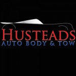 Hustead's Collision Center Berkeley CA 94704 Logo. Hustead's Collision Center Auto body and paint. Berkeley CA collision repair, body shop.