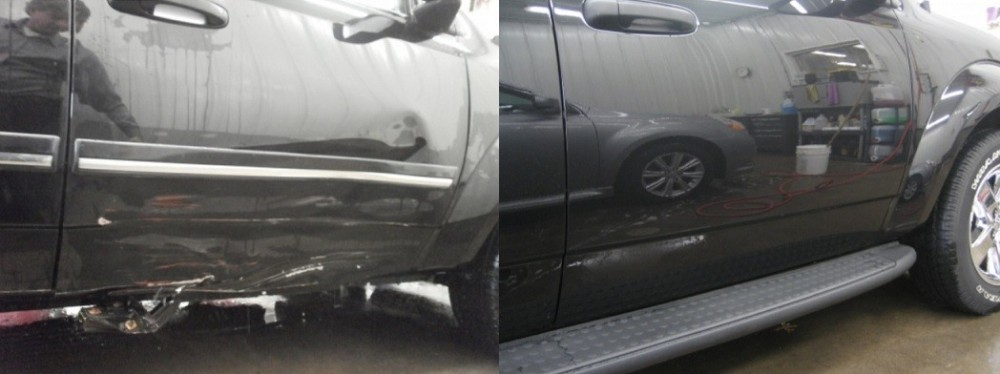 At Aerco Collision, we are proud to post before and after collision repair photos for our guests to view.