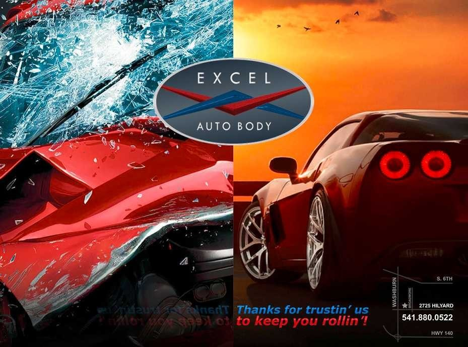 Need to get your car repaired? Come by and visit Excel Auto Body, located in Klamath Falls, OR, 97603. Our friendly and experienced staff will help you get started!