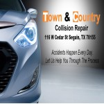 Here at Town & Country Collision Repair, Seguin, TX, 78155, we are always happy to help you with all your collision repair needs!