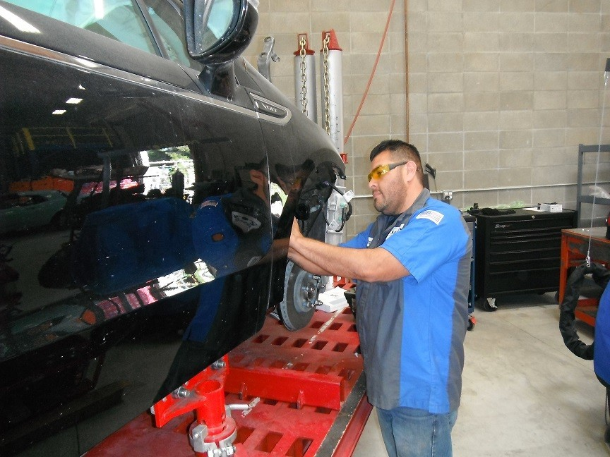 Collision structure and frame repairs are critical for a safe and high quality repair.  Here at Fix Auto Campbell, in Campbell, CA, 95008, our structure and frame technicians are I-CAR certified and have many years of experience.