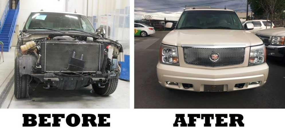 At Shiro's Collision Center, Llc, we are proud to post before and after collision repair photos for our guests to view.