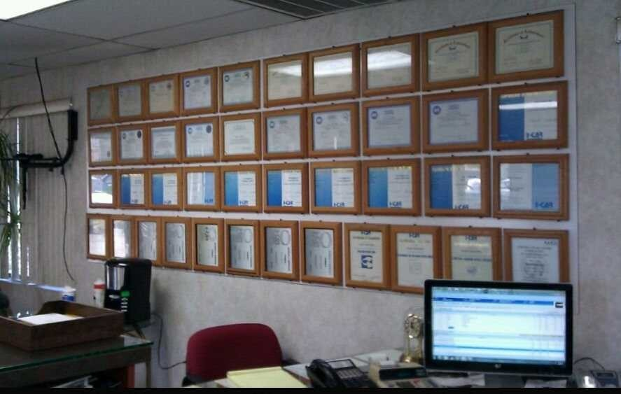California Auto Center located in La Habra, CA, we proudly post our earned certificates and awards.