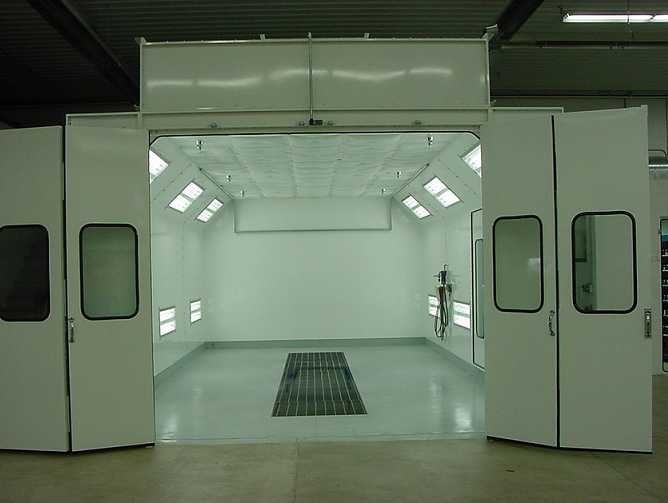 California Auto Center - A professional refinished collision repair requires a professional spray booth like what we have here at California Auto Center in La Habra, CA, 90631.