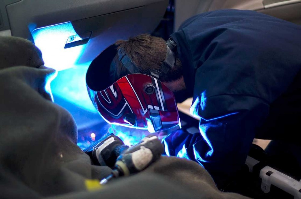 All of our body technicians at Heppner's Auto Service Center Corporate, Woodbury, MN, 55125, are skilled and certified welders.