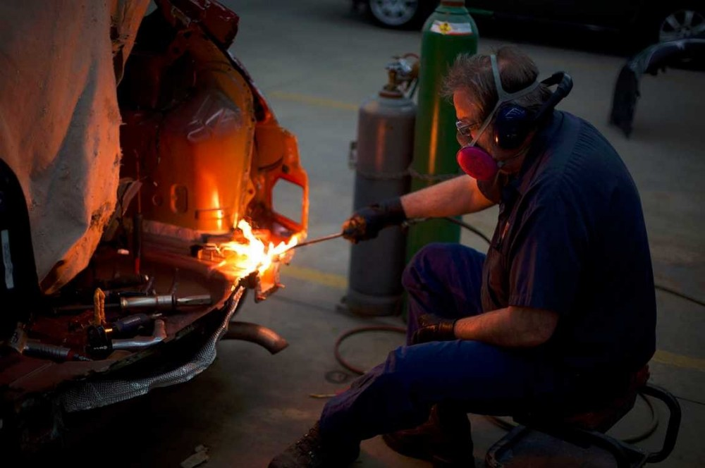 All of our body technicians at Heppner's Auto Body - Inver Grove Heights, Inver Grove Heights, MN, 55076, are skilled and certified welders.