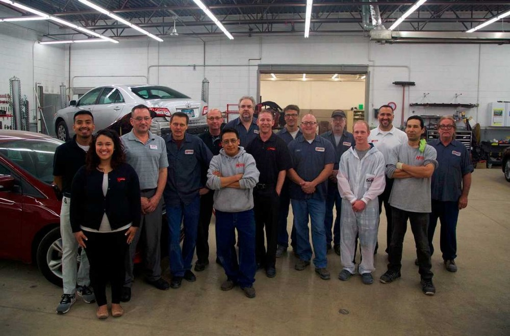 Friendly faces and experienced staff members at Heppner's Auto Body - Inver Grove Heights, in Inver Grove Heights, MN, 55076, are always here to assist you with your collision repair needs.