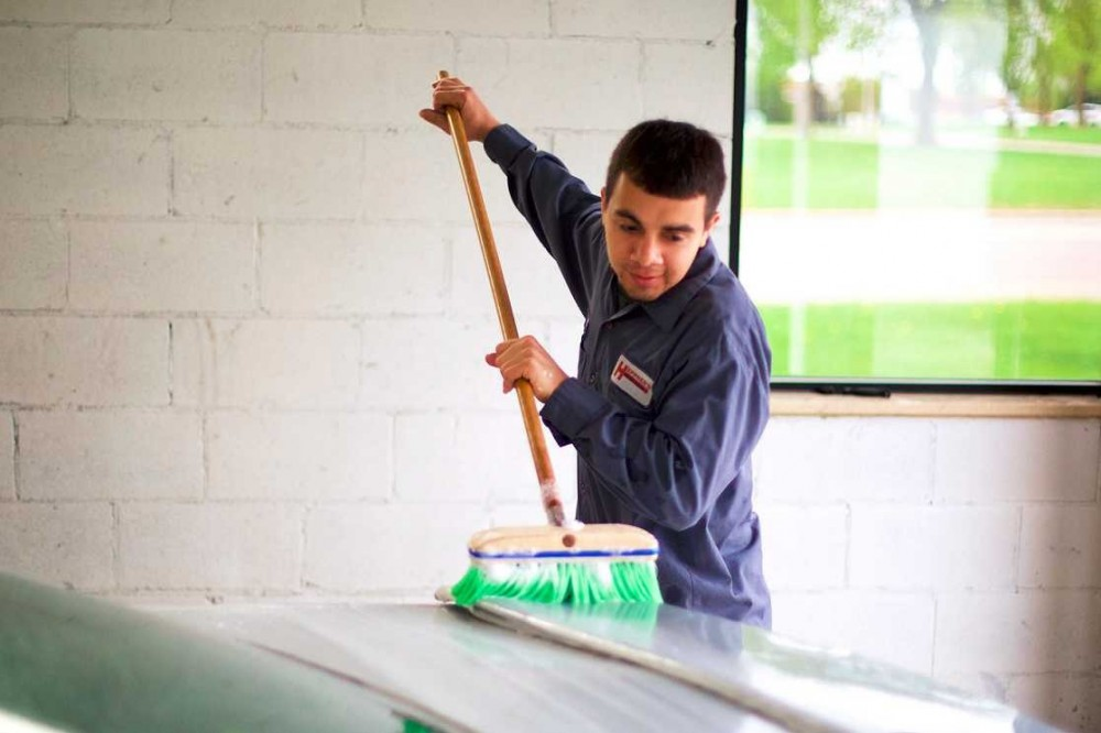 Every repaired vehicle at Heppner's Auto Body – Woodbury Woodlane, gets a wash and collision related detail.  A skilled detailing technician can perform miracles and that is exactly what you will receive at Woodbury, MN, 55125