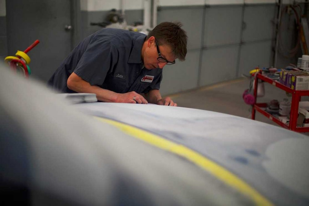 Professional preparation for a high quality finish starts with a skilled prep technician.  At Heppner's Auto Body - Inver Grove Heights, in Inver Grove Heights, MN, 55076, our preparation technicians have sensitive hands and trained eyes to detect any defects prior to the final refinishing process.