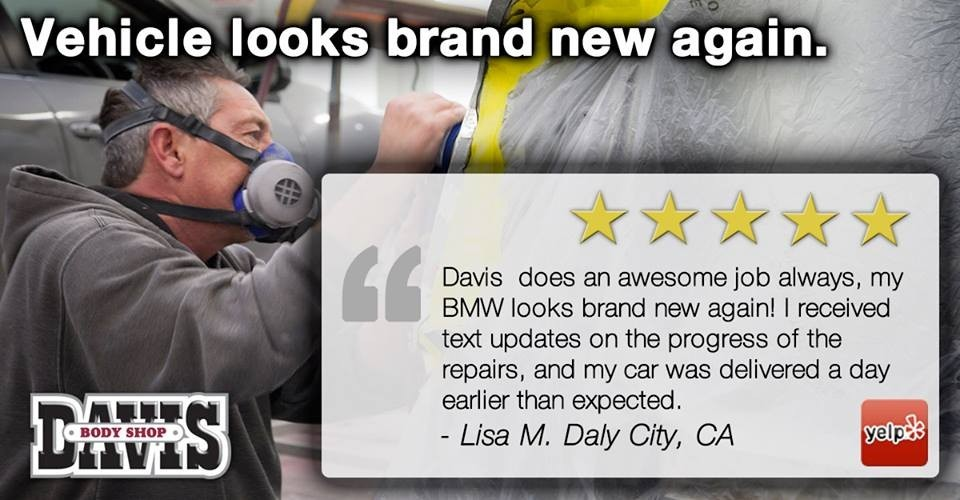 Davis Body Shop - Expect only the best.
