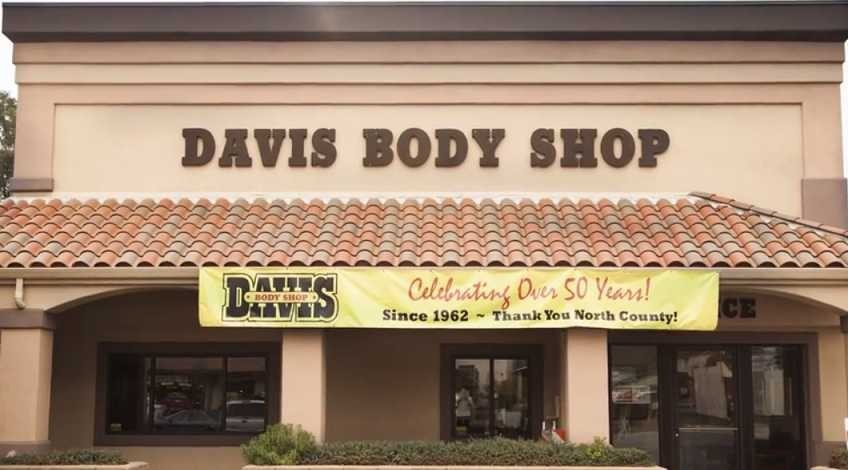 Davis Body Shop - South Atascadero CA. Conveniently located near you