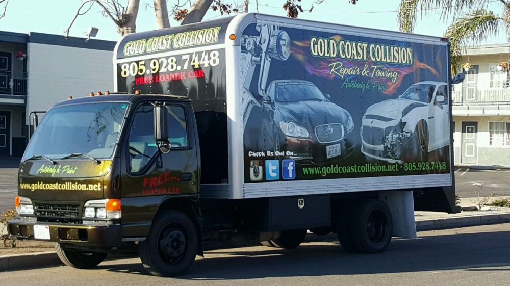 At Gold Coast Collision #2, Santa Maria, CA, 93454, towing services are always available for our guests.