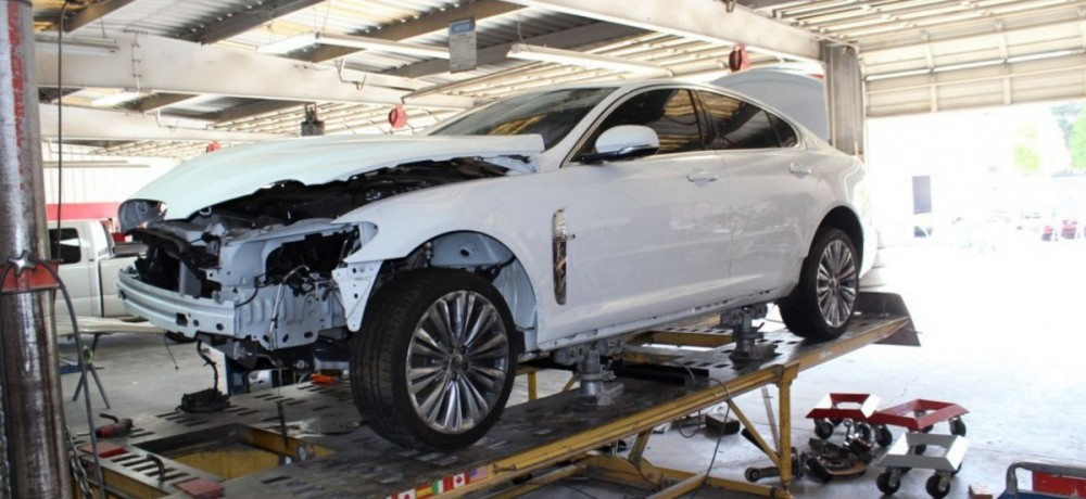 Accurate alignments are the conclusion to a safe and high quality repair done at Gold Coast Collision #1, Santa Maria, CA, 93458